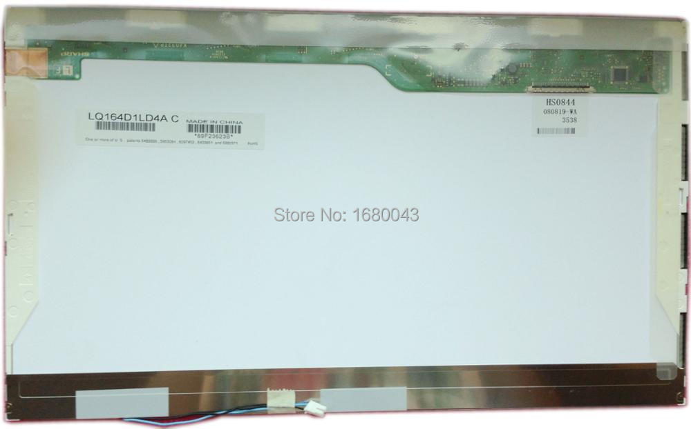 LQ164D1LD4A fit LQ164D1LD4AC 16.4 LAPTOP 1 CCFL LCD Screen HD 1600*900 Laptop Screen Display Panel lcd for ltm200kt12 display screen 1600 900 lcd display panel