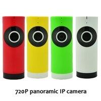 (1 pcs) Panorâmica de 180 graus HD 720 P wi fi Câmera IP Noite versão LED suporte IOS Andorid APP controle Olho de Peixe Sem Fio CCTV|wireless cctv|wifi ip camera|ip camera -