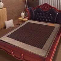 Free Shipping Bed Mattress Jade Heating Cushion Health Mattress 1 2 1 9m 220V As Seen