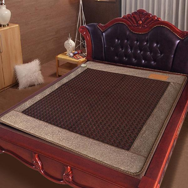 Free Shipping Bed Mattress Jade Heating Cushion Health Mattress 1.2*1.9m 220V As Seen On TV 2016 free shipping tourmaline bed mattress heating health mattress far infrared thermal 1 2 1 9m 220v as seen on tv