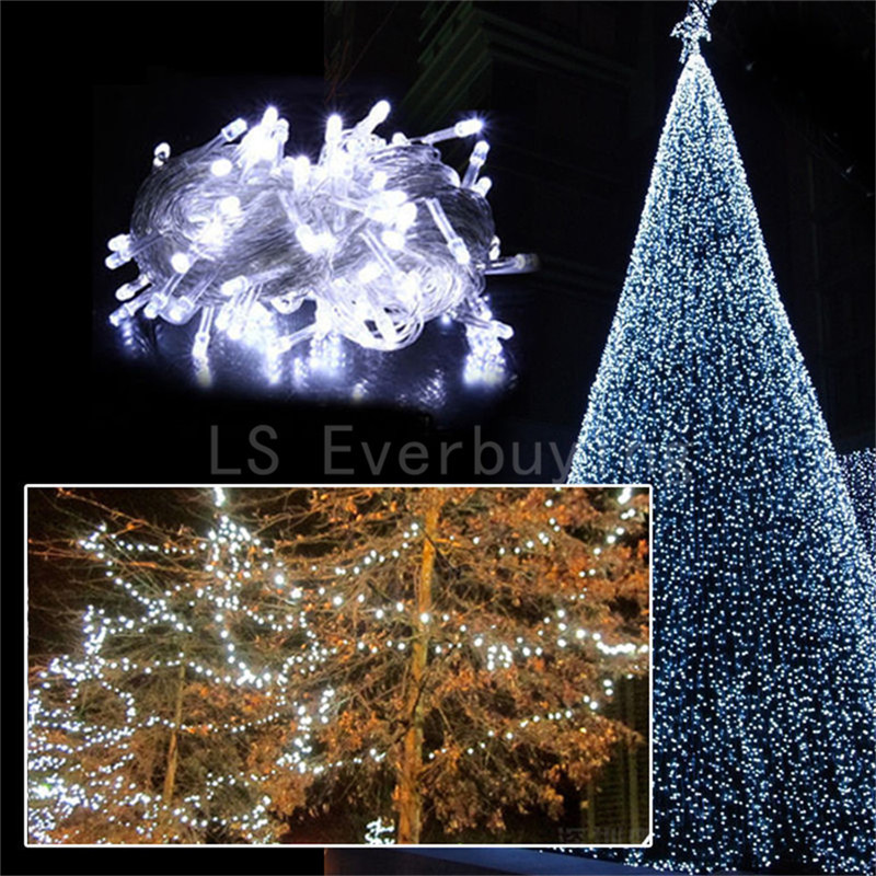 Multicolor Led String Lights 10M 20M 30M 50M 100M Xmas Holiday light outdoor decor lamp for party wedding garden christmas Fairy cis 57455 solar powered 50 led white xmas party wedding decor string light black 3 2v 7 5m