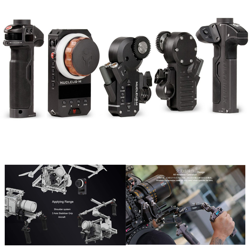 Tilta Wlc-T03 Nucleus-M Wi-fi Comply with Focus Lens Management System,comply with Focus For Zhiyun Crane 2 / Dji Ronin Handheld Gimbal