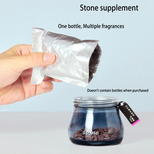 Image 5 - Air Freshener Zeolite Natural Perfumes Stone Car Vent Air Conditioner perfume outlet Clip Glass Bottle Perfume stone Supplement