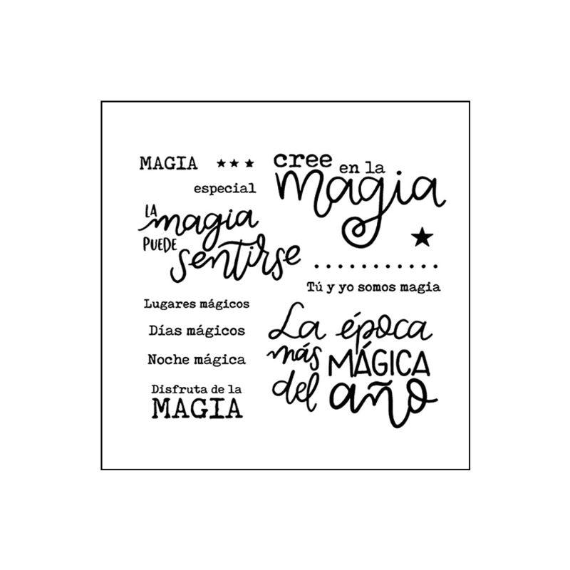 Especial Magia DIY sello transparente de silicona sello adhesivo repujado para álbum de recortes álbum de decoración para Scrapbooking sellos nuevos 2019