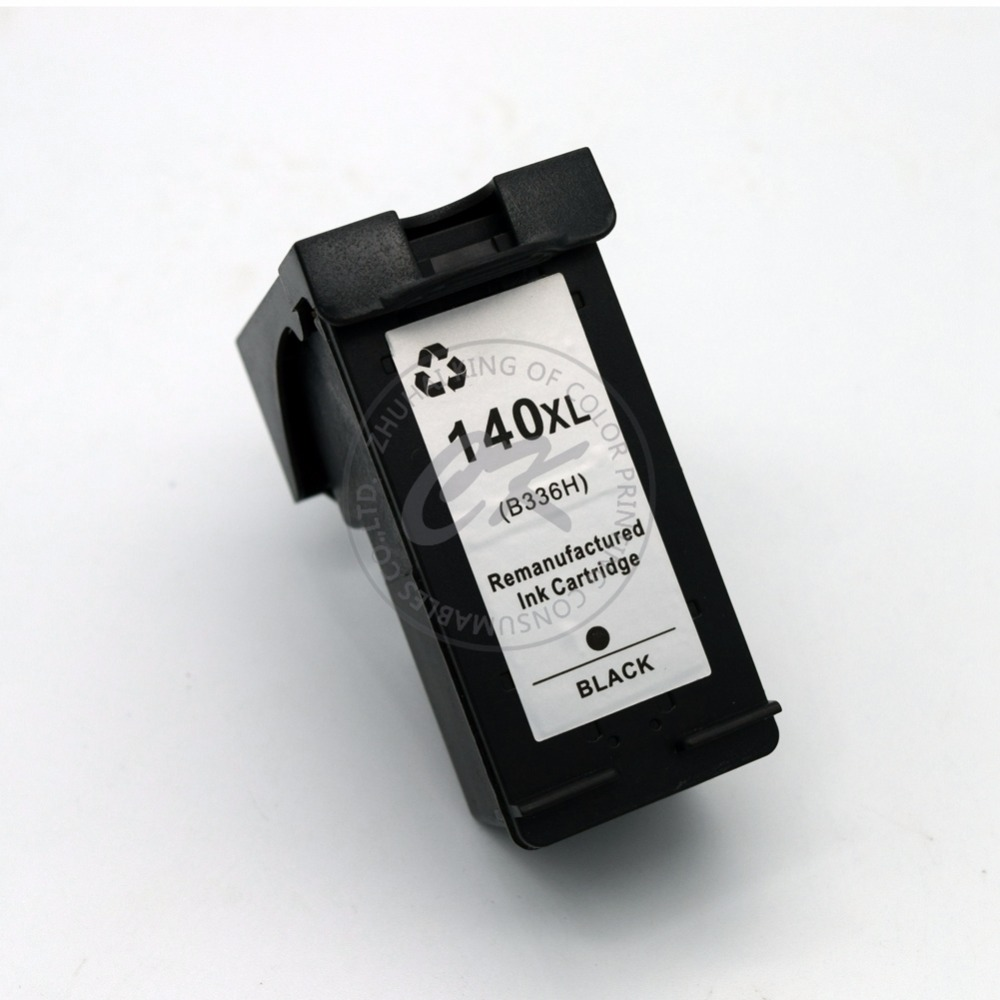 1BK Inkjet Ink Printer Cartridge for HP140 CB336HE for HP140XL Cartridge for HP DeskJet photosmart D5360