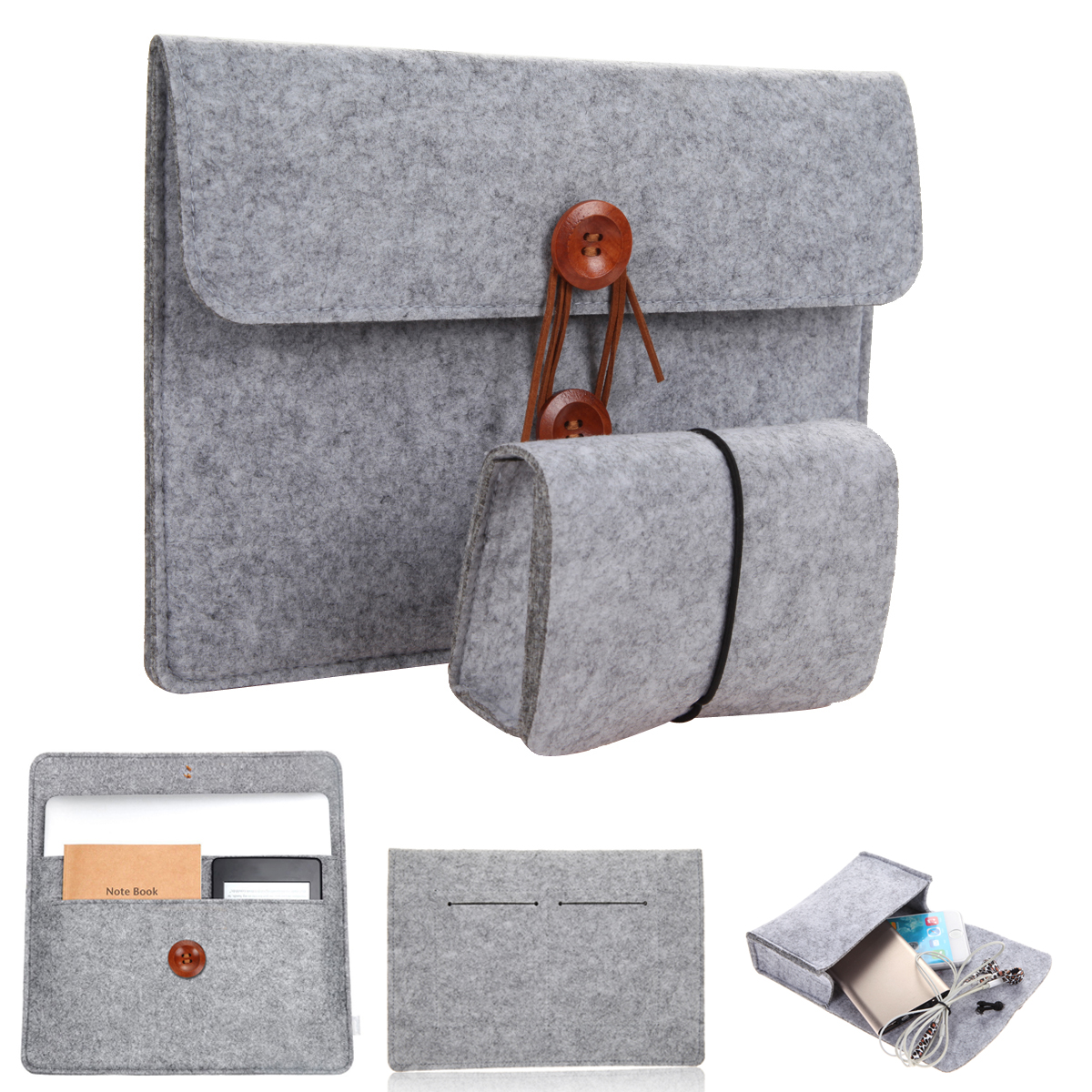 Protective Pouch Bag Sleeve Cases Cover for iPad Macbook Pro/Air/Samsung Notebook 101112131415 Best Price