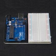 Прозрачная Акриловая Пластина Для Монтажа Доска Экспериментальная Платформа arduino R3