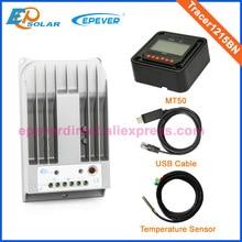 MPPT 10A Solar regulator 12v 24v auto work Tracer1215BN with MT50 USB cable and temperature sensor