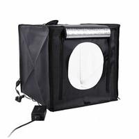 Light Box Photo Studio 40 x 40cm CRI95 Professional Table Photography Shooting Tent with 2 LED Light for DSLR Camera Smart Phone