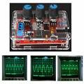 O Envio gratuito de Preço de Fábrica Gerador de Sinal da Função XR2206 DIY Kit de Saída 1 HZ-1 MHZ Sine Triângulo Quadrado com caixa de acrílico
