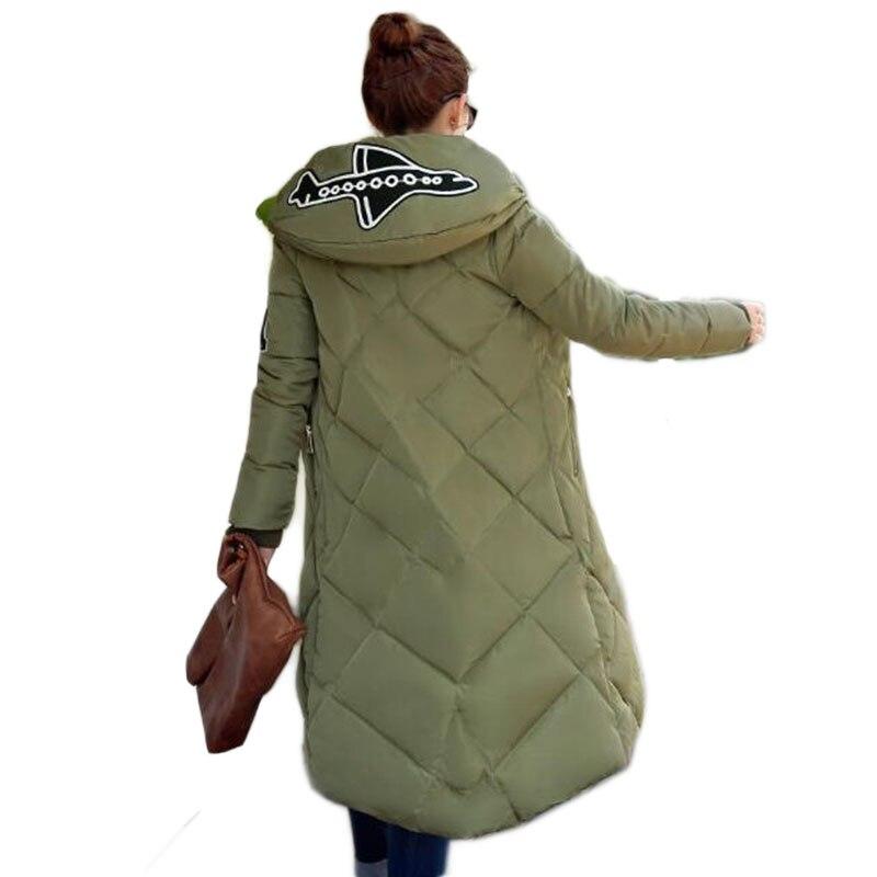 Moyen Taille Capuchon Invierno Casual La Plus Black army Veste Femmes Mince À Jx053 Et Green grey Solide Couleur Long Épaississement Coton Parka D'hiver 3xl xapUYq0