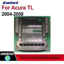 ZaiXi Auto Radio 2 Din Android Car Player For Acura TL 2004~2008 GPS Navigation BT Wifi Map Multimedia system Stereo Radio недорого