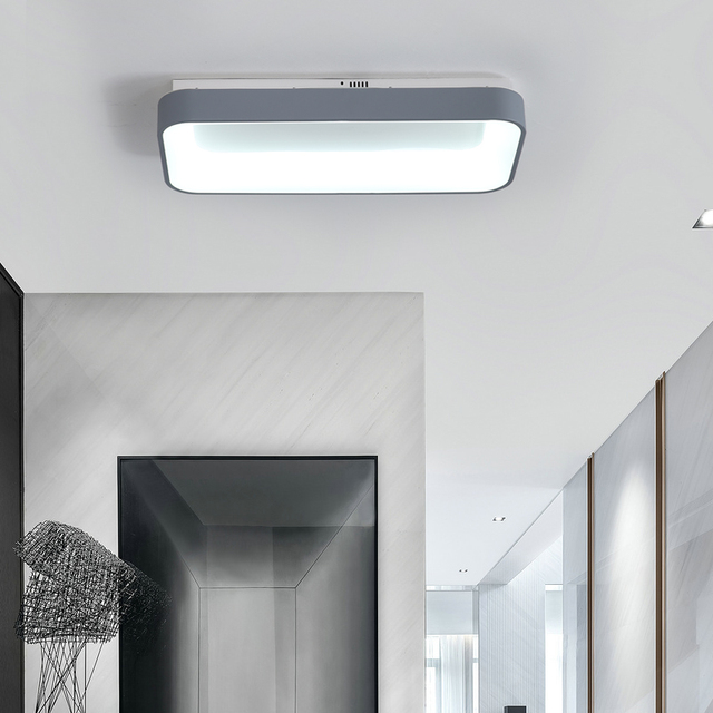 Dragonscence Modern Led Ceiling Lights Lustre rectangle Lighting For Bedroom Restaurant meeting room Private clubs lamp