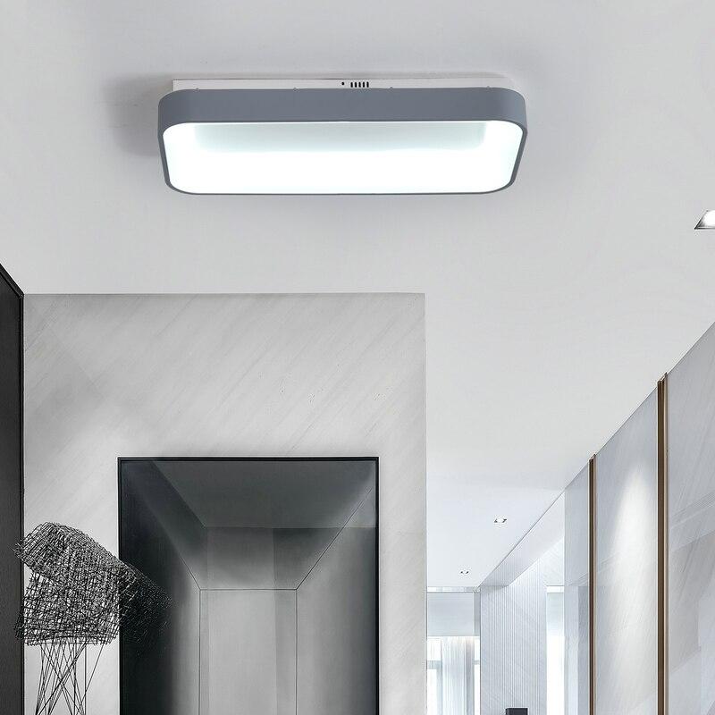 Dragonscence Modern Led Luzes de Teto Lustre retângulo lâmpada de Iluminação Para Quarto Restaurante sala de reuniões clubes Privados