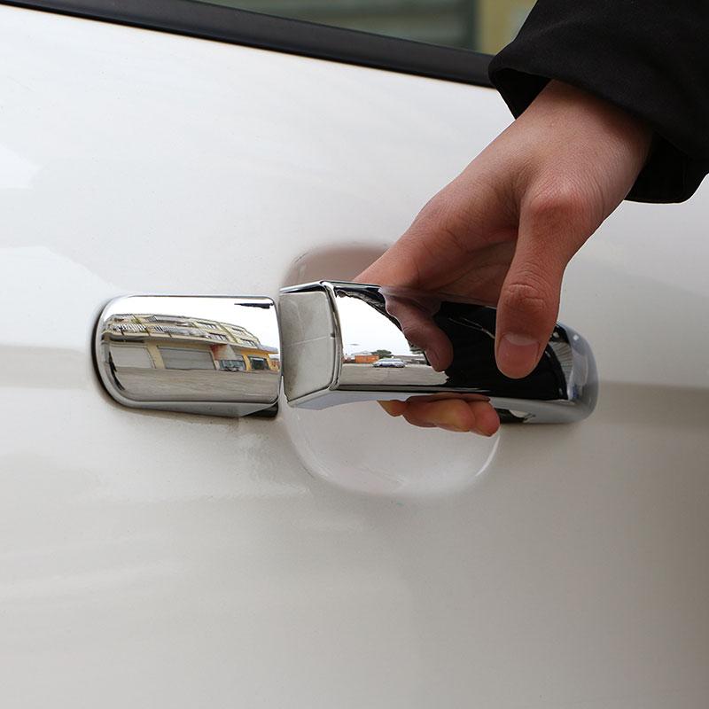 Color My Life ABS хромированная отделка Автомобильная дверная ручка Защитная крышка для Ford Focus 2 3 4 MK2 MK3 MK4 Авто наклейки аксессуары