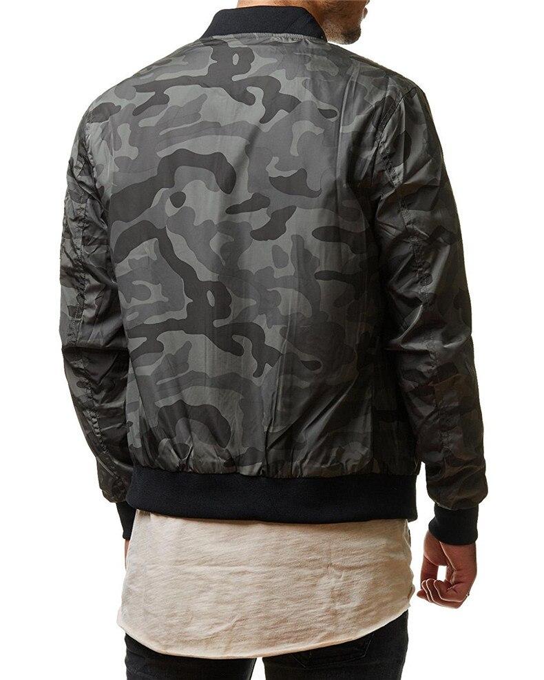 7XL Jackets Men 2019 Camouflage Jacket Male Coats Camo Bomber Mens Jacket Brand Cloth Outwear Baseball Collar Plus Size 5XL 6XL 07