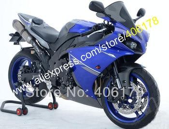 Fashion For YZFR1 2012 2013 2014 Blue Black 12 13 14 YZF1000 R1 YZF R1 YZF1000 ABS Fairing Set (Injection molding)