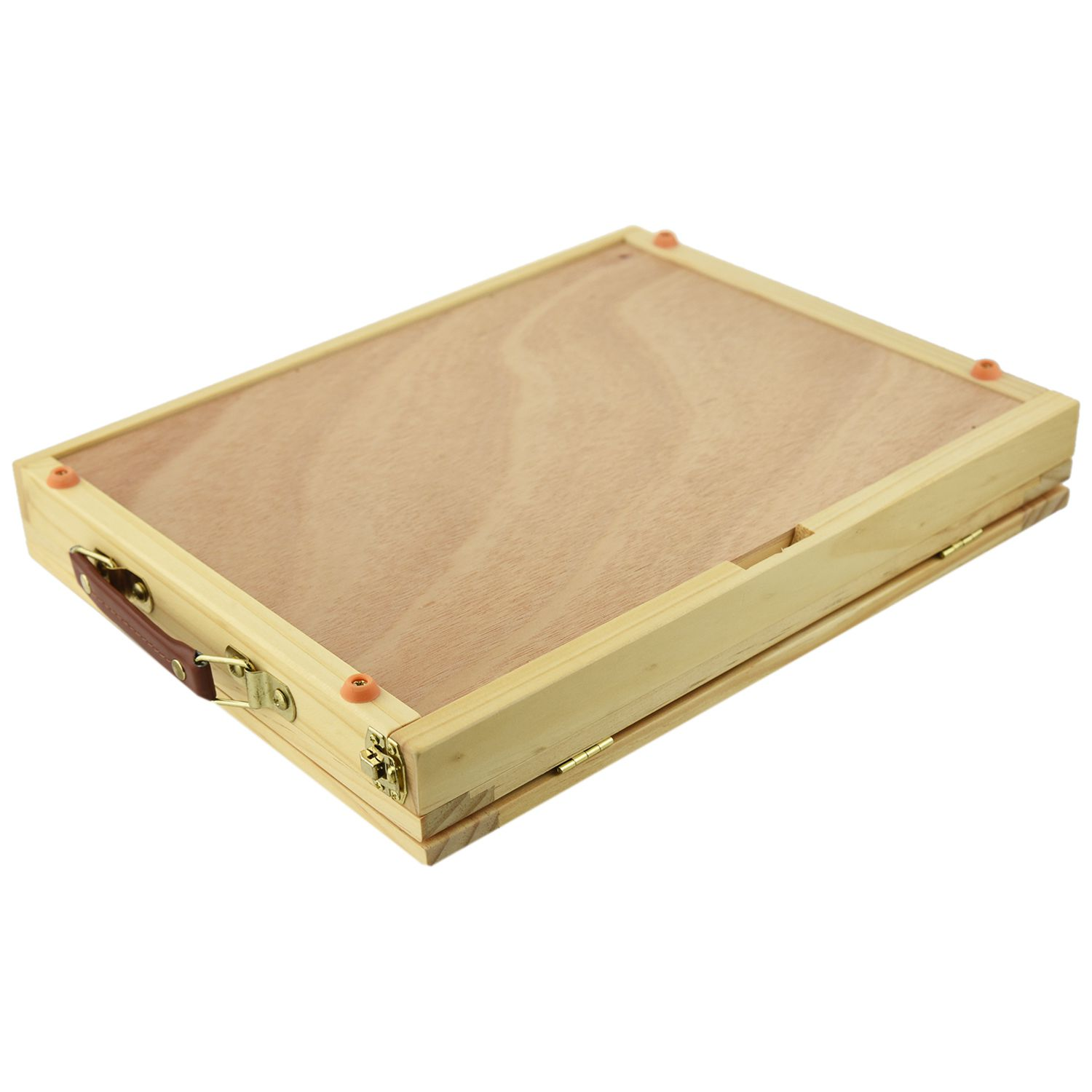 Artist Wooden Table Box Easel for Painting with Drawer Box Portable Desktop Suitcase Painting Hardware Art Supplies цены