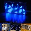 Kit DIY suíte de produção de exibição espectro música LS1608 diy música sit LED dot matrix 51 MCU