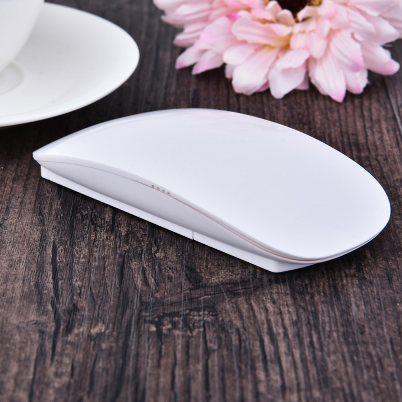 TM-823 2.4G Wireless Mouse Ultra-thin Touch Mouse New Flat USB Multi Touch Scroll Mouse For Apple Macbook Laptop