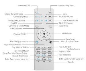 Image 2 - Quran Bluetooth głośnik zdalnego dla koranu muzułmańskie głośniki z Bluetooth Led światła dla SQ510 SQ112 SQ102 SQ302 pilot