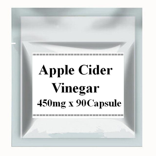 1 Упак. Apple Cider Vinegar Капсула 450 мг х 90 шт. бесплатная доставка