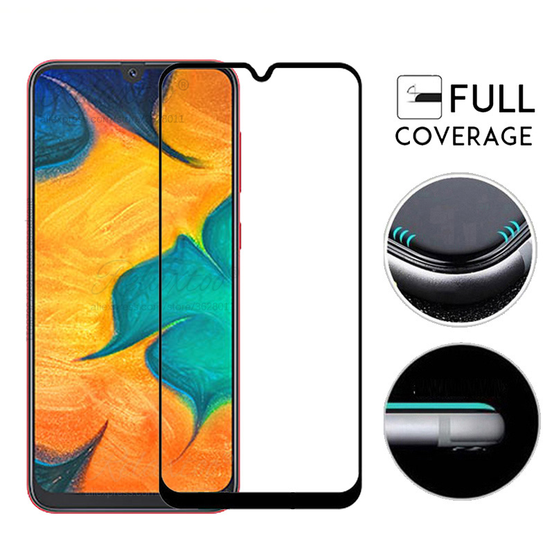 Image 3 - Tempered Glass For Samsung Galaxy A20 A30 A40 A50 protective Glass on the For Samsung A 20 30 40 50 A305F A405F A505F front film-in Phone Screen Protectors from Cellphones & Telecommunications