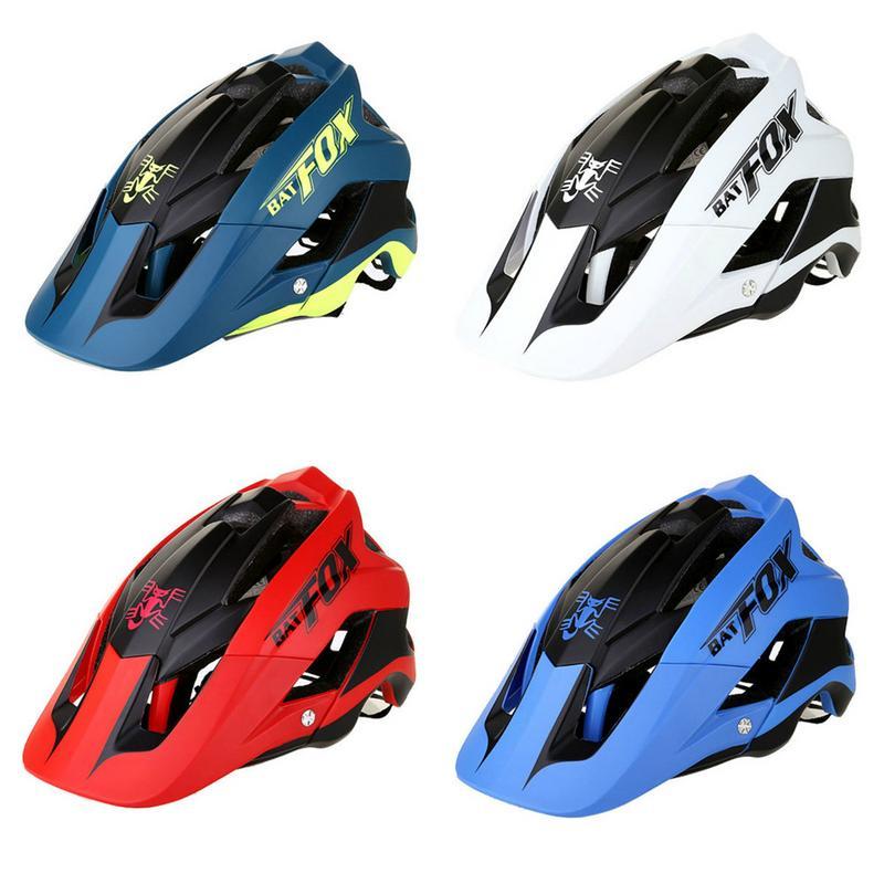 Casque de vélo de haute qualité Anti-Vibration et Protection solaire VTT une pièce casque d'équitation casque 4 couleurs au choix