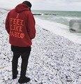 Harajuku Мужчины Высокого Качества Пабло Пуловер Капюшоном Толстовка Женщины Хип-Хоп Джастин Бибер Коби Yeezy Kanye West Верховный Толстовка