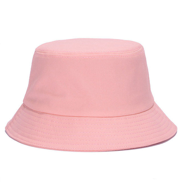 c66729e1ad049 2015 Vogue Pure color Genuine Basin Cotton Padded Caps Bucket Hat Fisherman  Bonnie Bob Hunting Hat outdoor leisure hats