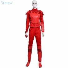 Newest High Quality The Hunger Games Katniss Everdeen Uniform Cosplay Costume ,Perfect Custom For You !
