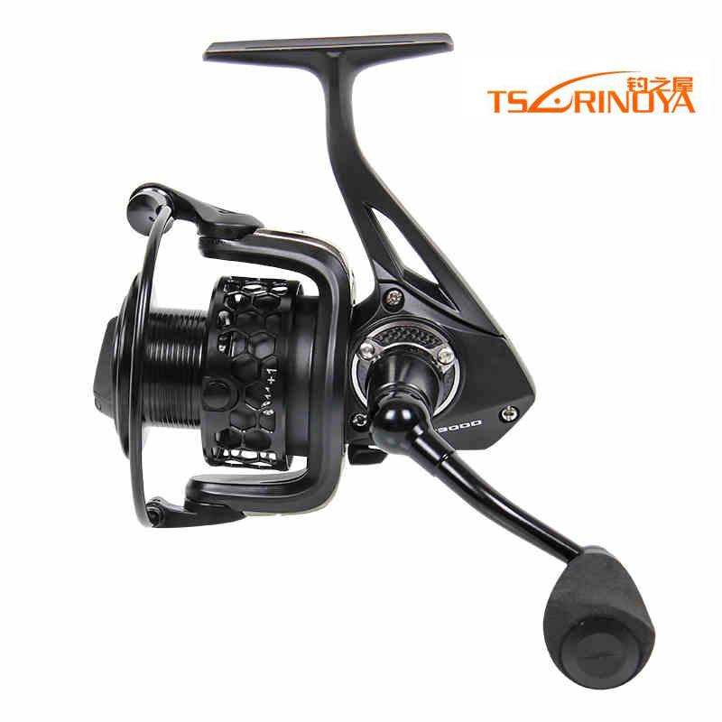 цена на Tsurinoya Spinning reel Fishing Gear Full Metal 11+1 Ball Bearings Drag Reel saltwater Fishing tools TSP 3000 Free Shipping