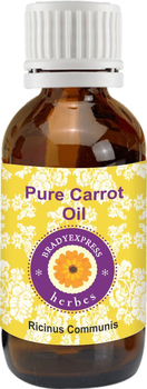 FRee Shipping Pure Carrot Oil (Daucus carota) 100% Natural Cold Pressed Therapeutic Grade  5ML недорого