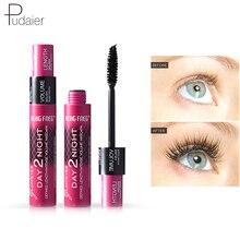Eye-Mascara Volume-Express Pudaier Eyelashes Makeup Curling Fiber Lengthening Rimel 3d