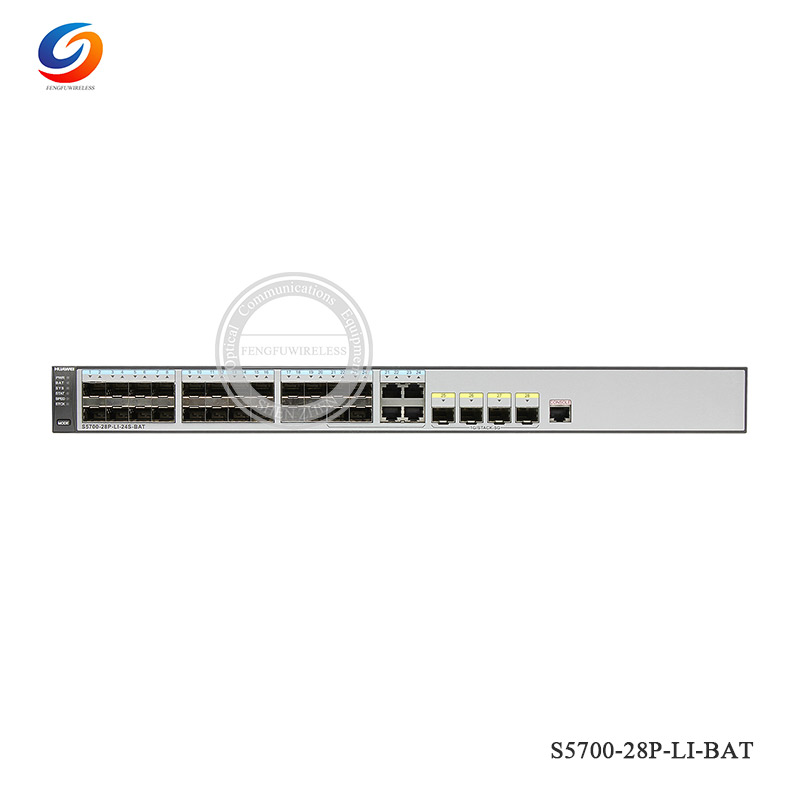 Original High Quality S5700-28p-li-bat Hua Wei S5700-li 24x10/100/1000base-t Ethernet Ports Network Switch Skillful Manufacture Communication Equipments