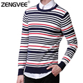 Sweater for Men Pullover Long Sleeve Sweaters Knitted Fashion Casual Sweaters for Men Warm and Comfortable