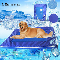 comwarm-new-summer-pet-dog-cat-soft-kennel-cooling-bed-mat-breathable-hand-washable-mats-nylon-carpets-pet-supplies