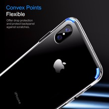 iPhone X Case,ROCK Slim Case For iPhone X 10 Ultra Thin Capinhas PC & TPU Silicone Cover Capa For iPhoneX  Coque Shell