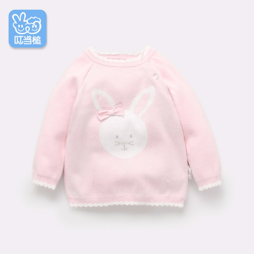 Dinstry 2018 spring and autumn new arrived children's clothing knitwear clothing girl princess sweater