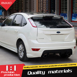 a8ecf1e89e7b For Ford Focus Spoiler ABS Material Car Rear Wing Primer Color Rear Spoiler  For Ford