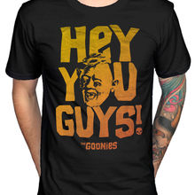 f33f95b64 Official The Goonies Sloth Hey You Guys Distressed Retro T-Shirt Movie  Design T Shirt