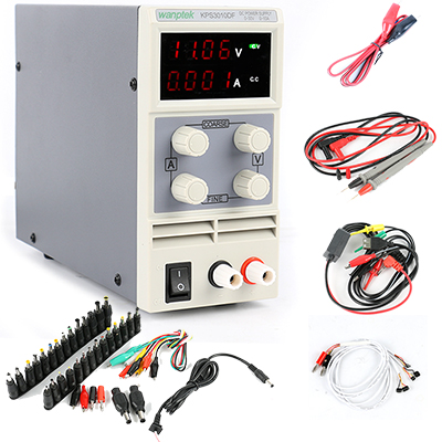 KPS-3010DF DC Switching Power Supply 30V 10A 0.01V 0.001A Digital Adjusted Laboratory Power Supply Phone Repair Tool DC Jack Set cps 6011 60v 11a digital adjustable dc power supply laboratory power supply cps6011