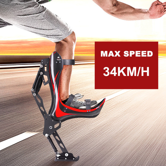 Creative Jumping Shoes Bounce Stilts Bionic Ostrich Boots Kangaroo Jump Adults Teenager Outdoor Extreme Sports Fitness Device