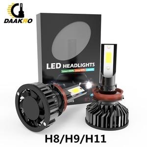 Image 5 - F2 Led Auto Koplamp Led Lamp 9006 HB4 H1 9005 H10 HB3 H4 9003 HB2 H8 H9 H11 H7 4000lm auto Lampen Mistlampen Canbus Dropshipping