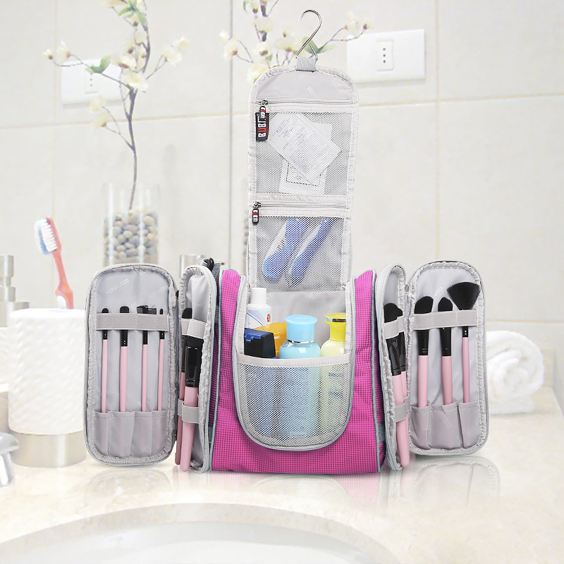 Bubm Multi Use Bag Travel Hook Hanging Toiletry Organizer Bathroom Storage Cosmetic With Removable Side Compartments In Bags From Home