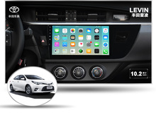 deckless 10.1″ 4G lite 2GB ram Android 6.0 car dvd player stereo gps tape recorder for toyota corolla levin 2015 2016 head units