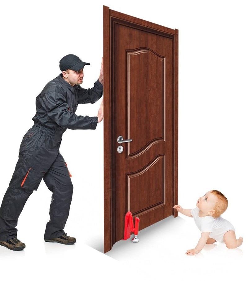 Portable Hotel Travel Anti-theft Door Stopper Security Door Jammer High Strength Door Stopper for Home HotelPortable Hotel Travel Anti-theft Door Stopper Security Door Jammer High Strength Door Stopper for Home Hotel