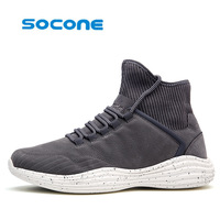 2017 Hot Section Men S Sports Shoes Light Elastic Running Shoes Flying Needle Technology Super Comfortable