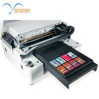 2017 mais novo A3 impressora UV caso de telefone celular máquina de impressão de cartão de visita cartão de plástico transparente