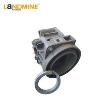 Cabeça do Cilindro Compressor de Suspensão a ar Da Bomba Com Anel Para E53 W211 E65 E66 C5 C6 C7 W220 A8 Phaeton LR2 XJ6 2203200104